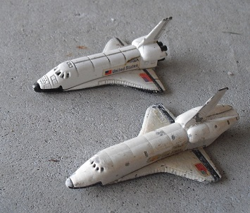 Lot of 2 Diecast ERTL Space Shuttle Toys, WhyBidMore ...