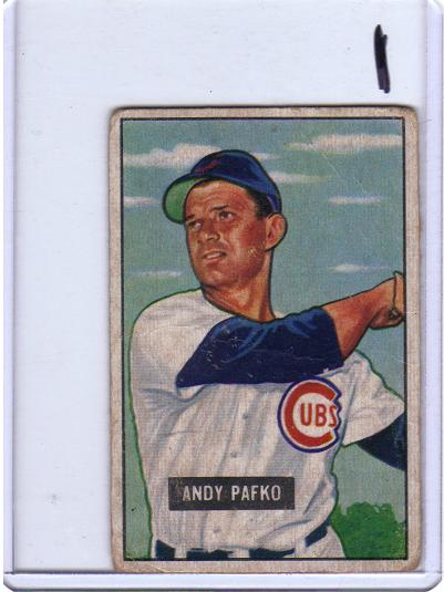 1951 Bowman Andy Pafko Card 103
